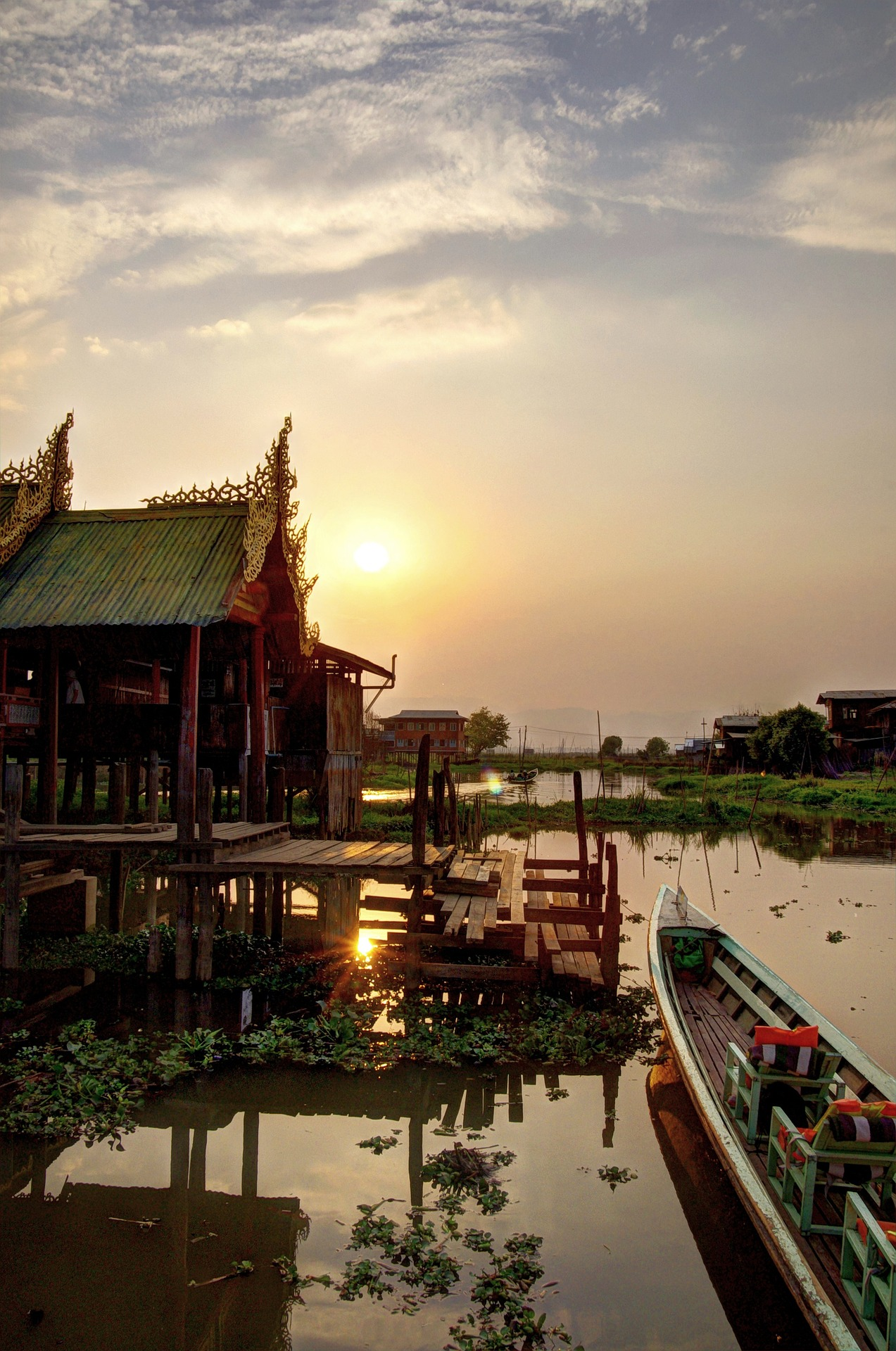Le lac Inle picture