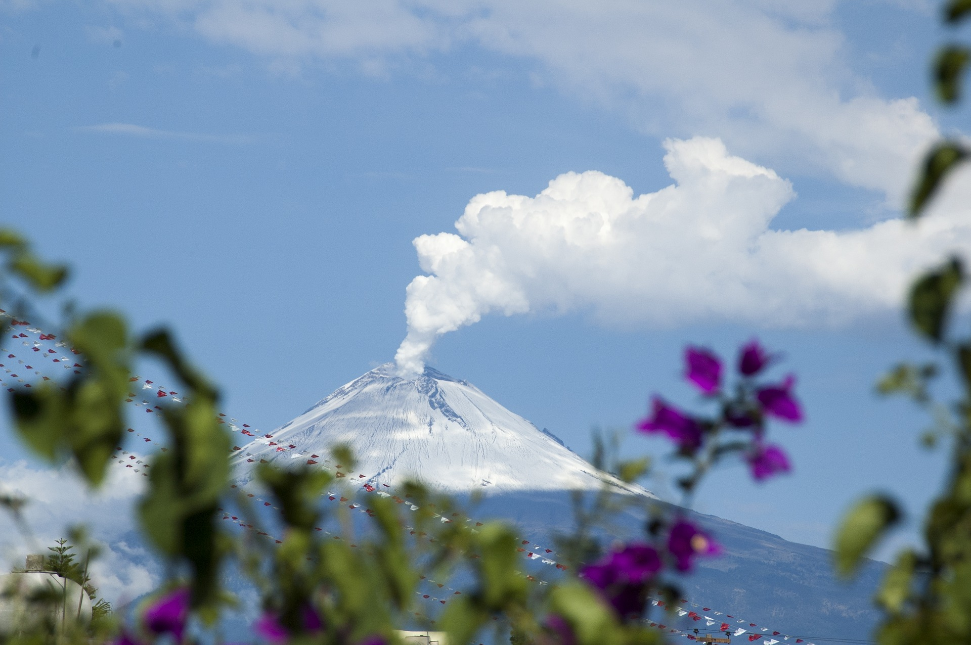 Popocatepetl, crédit photo: christopheducoin de Pixabay